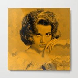 Jane Fonda - Celebrity Metal Print