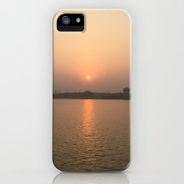 Kolkata Sunset iPhone Case