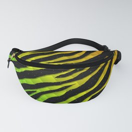 Ripped SpaceTime Stripes - Rainbow BGYOR Fanny Pack