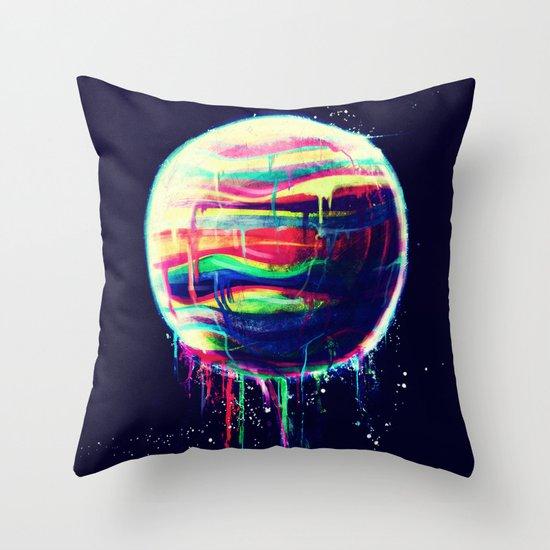 Deliquesce Throw Pillow