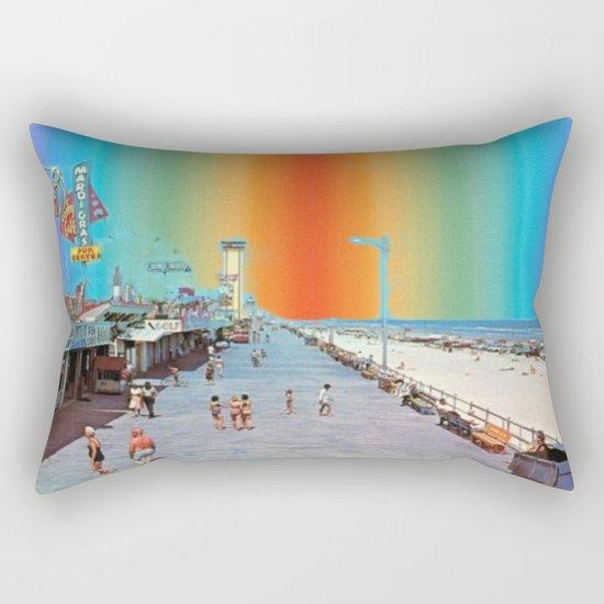 Boardwalk Rainbow Rectangular Pillow