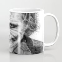 the joker Mugs featuring Joker by robo3687