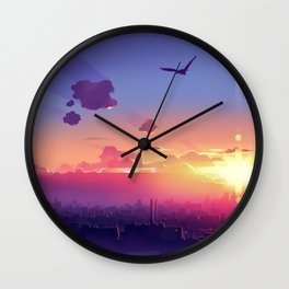 City Cloud Original Wall Clock