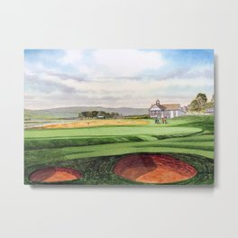 Royal Dornoch Golf Course 18th Hole Metal Print