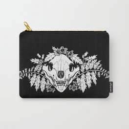 Henbane Bear Skull Carry-All Pouch