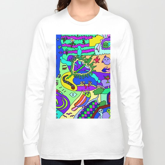 Abstract 20 Long Sleeve T-shirt