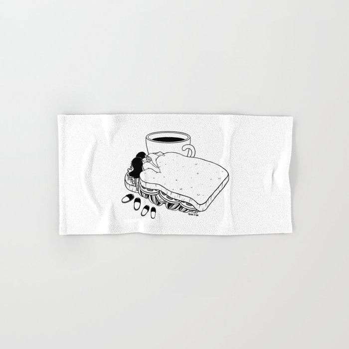 Breakfast Included Hand & Bath Towel