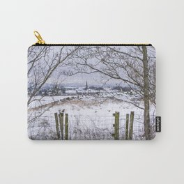 A snowy view to Wardle Carry-All Pouch