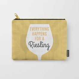 Wine Humor Riesling Carry-All Pouch