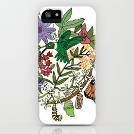 Pollinator's Garden iPhone Case
