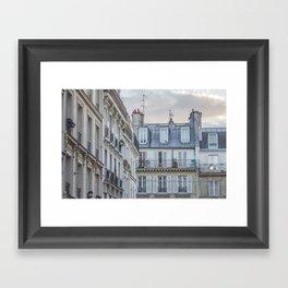 Paris Architecture Framed Art Print