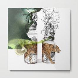 animalium jaguar Metal Print