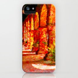 Mission San Juan Capistrano California Abstract iPhone Case