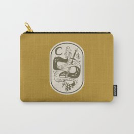 Sword and Snake Carry-All Pouch