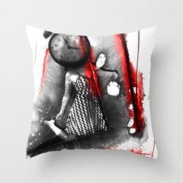 4am Throw Pillow