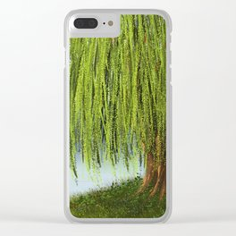 Willow tree Clear iPhone Case