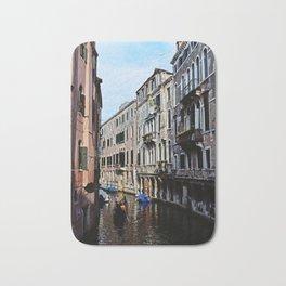 Venice the city of Canals Bath Mat