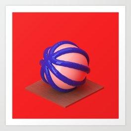 Basketball Study No.04 Art Print