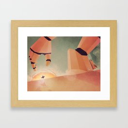 The Standoff Framed Art Print