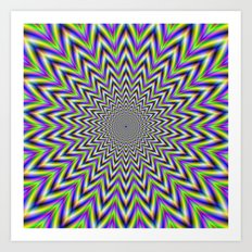 Starry Pulse Art Print