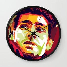 WPAP - Andrew Garfield Wall Clock