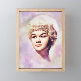Etta James, Music Legend Framed Mini Art Print