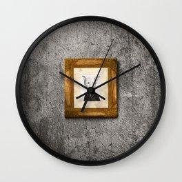 My name is not Harry Heller (No me llamo Harry Heller) Wall Clock