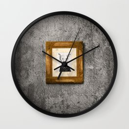 My name is not Harry Heller (No me llamo Harry Heller) Wall Clock