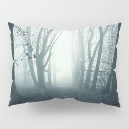 blue forest Pillow Sham