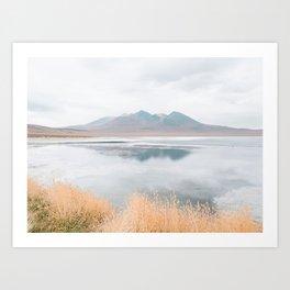 Mountainous Reflections - Landscape Photography Art Print