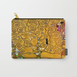 Gustav Klimt Tree Of Life Gold Version Carry-All Pouch