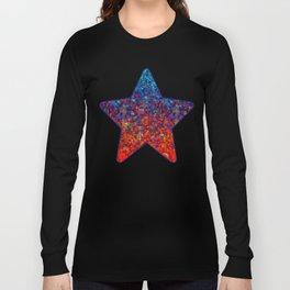 Glitter Dust Background G172 Long Sleeve T-shirt