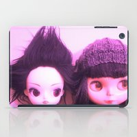 doll iPad Cases featuring doll by helendeer