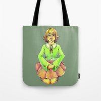 chihiro Tote Bags featuring Chihiro by Mottinthepot