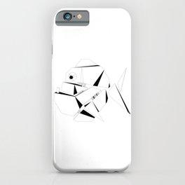 Imaginary cartoon fish iPhone Case