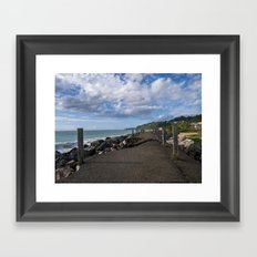 Aguadilla coast 7 Framed Art Print