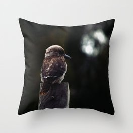 Laughter by Moonlight Throw Pillow