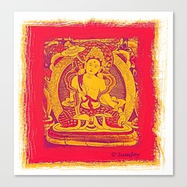 Thanka (5) Canvas Print