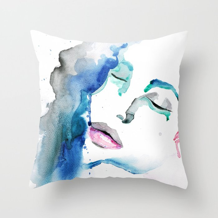Angelina Two Throw Pillow