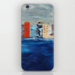 City Near The Sea iPhone Skin
