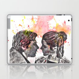 Han Solo and Princess Leia from Star Wars Laptop & iPad Skin