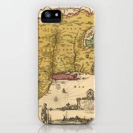 American East Coast 1685 iPhone Case