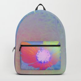Holographic Flower Photography Backpack
