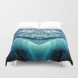 ocean vortex Duvet Cover