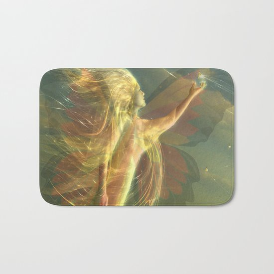 buterfly Bath Mat