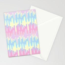 Melty Patterned Slime Stationery Cards