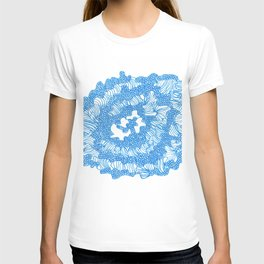 March's Blue 6   | Artline Drawing Pens Sketch T-shirt