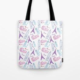 Travel Dream Tote Bag