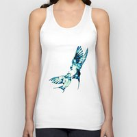 birds Tank Tops featuring Birds by Nuam