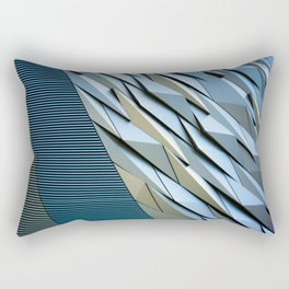 Shattered Abstract Rectangular Pillow
